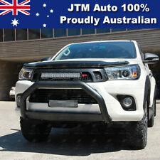"""Nudge Bar 3"""" Black Steel Grille Guard Suitable For Toyota Hilux 2015-2020"""