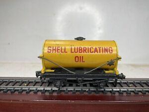 Hornby Dublo OO Ho 2 Rail Scale Model Trains Shell Oil Tanker Tank Car Die-Cast