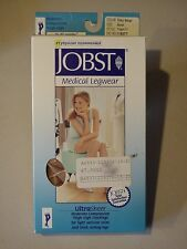 Jobst Medical Legwear Compression 15-20 mmHg Silky Beige Small Thigh CT 119377