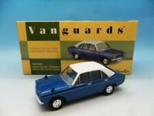 CORGI VANGUARDS HILLMAN AVENGER 1500 SUPER ELECTRIC BLUE TOP HAT SPECIAL VA10403