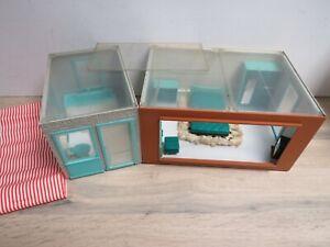 Vintage 1960s Triang Jennys Home Doll's House Bathroom & Bedroom Bundle Set