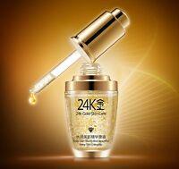 BIOAQUA 24K Gold Essence Collagen Skin Face Moisturizing Hyaluronic Acid 30ml BT