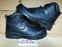 Nike Manoa LTR Boots (BQ5372-001) Size 7 Women's or 5.5 Youth Color Black