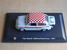 Leo Models CAR DIE CAST 1:43 NEW -  FIAT ABARTH 1000 BERLINA CORSA 1967  [MV-3 ]