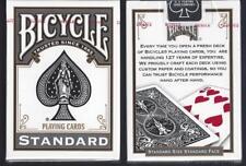 2 DECKS BLACK Bicycle 808 Rider Back playing cards