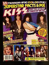 Kiss Magazine Superstar Facts And Pix Kiss And Other Wildmen ( Poster ) Program