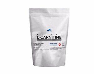 ACETYL L-CARNITIN ALCAR 100% PURE PUDER VERMEIDEN STRESS UND DEPRESSION FAT LOSS