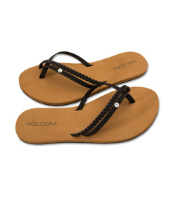 Volcom wms Flip Flop Thrills - black - Neu & OVP