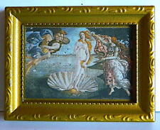 Dolls House Miniatures 1/12th Scale  The Birth of Venus   Picture New (D959)