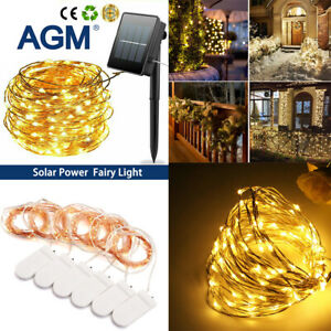 3M Led String Fairy Lights Indoor/Outdoor Garden Curtain Party Wedding Xmas Home