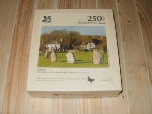 "WENTWORTH 250 Piece Wooden Jigsaw ""AVEBURY"" National Trust **COMPLETE**"