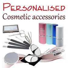 Personalised cosmetics accessories * mirror * manicure set * woman mirror