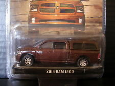 Greenlight 2014 Dodge Ram Truck with Canopy Mocha Java Pearl 1/64 Die Cast