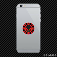 God Will Judge Our Enemies We'll Arrange The Meeting Cell Phone Sticker v6b
