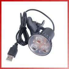 Flexible Super Bright 3 LED Clip On Spot USB Light Lamp For Laptop PC Notebook