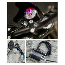 LCD Motorcycle Speedometer Odometer Gauge MPH KM/H Gear position EFI Oil pump