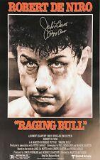 Jake Lamotta Huge 40x30 Raging Bull Signed Boxing Movie Poster Coa & Proof