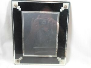 Classic art deco picture frame, 8 by 9.5 inches, # 1561