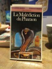 Un livre dont vous êtes le héros La malédiction du Pharaon