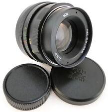 ⭐SERVICED⭐ HELIOS 44m Lens + Adapt. Fuji X-Mount FX X-Pro 1 2 X-T T2 T3 T20 T100
