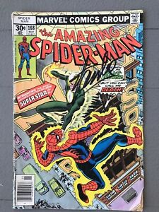 Amazing Spider-Man 168, signed by Stan Lee
