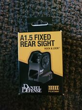 Daniel Defense pic rail rifle pattern A1.5 Fixed Rear Sight - Black