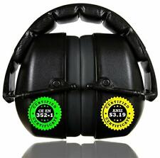 Clear Armor Safety Ear Muffs Hearing Protection 34dB Nrr Shooters Head 141001