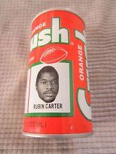 ORANGE CRUSH CAN Denver Broncos NFL FOOTBALL TEAM ~ RUBIN CARTER  DEFENSE TACKLE