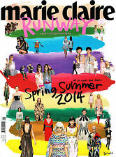 MARIE CLAIRE RUNWAY #5 S/S 2014 HOW FASHION HAPPENS + Free Stickers @New@