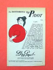 D176 - Advertising Pubblicità - 1953 - DOT.SSA PAYOT CREME EMBRYONNAIRE