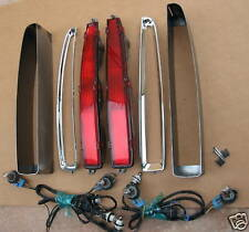 94-99 Cadillac Deville tail lights buckets package OEM. Money back guaranteed!