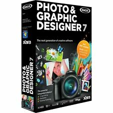 Magix Xara Photo and Graphic Designer 7 PC Brand New Sealed