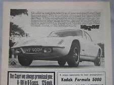 1970 Lotus Original advert No.1