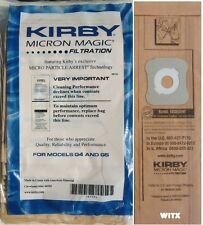 9 Pack Genuine Kirby Generation 4 and Generation 5 Disposable Bags