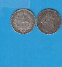 Gertbrolen  Louis-Philippe 1 Franc  en  Argent   1846 Paris