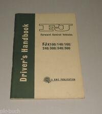 Instrucciones Servicio Owner's Manual BMC Morris FJ k 100 140 160 240 300 340