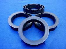 (s42) 4 pièces Bagues de centrage 73,1/56,1 mm gris foncé pour jantes Alu