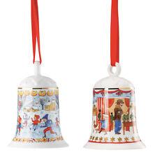 2009 3x Hutschenreuther Glocken 2008 2010 Weihnachtsglocke Porzellanglocke
