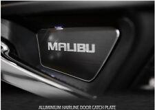 Aluminum Door Inside Catch Plate Silver Color 4PC 2017, 2018+ Chevrolet Malibu