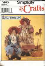 SCARECROW Dolls RAG Doll HOMESPUN Primitive PATTERNS