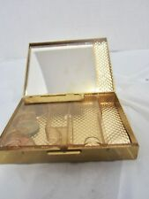vintage coin sorter metalic compact style case