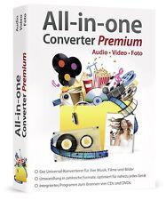 All in One Converter Premium - Konverter für Musik, Filme & Bilder - PC DVD-ROM