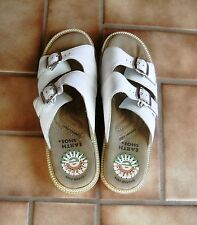 EARTH SHOE Gelron 2000 Sandals White Women's Size 10--Cool for Summer!