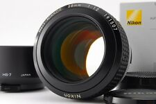 【NEAR MINT】Nikon NOCT NIKKOR AI-S 58mm f/1.2 AIS Lens from Japan #371