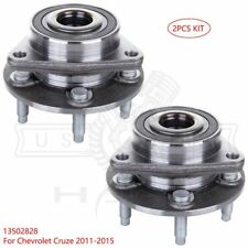 Front Wheel Hub Bearing Left & Right Assembly For Chevrolet Cruze 11-15 2Qty