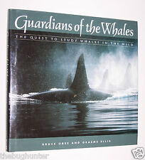 "1992 ""GUARDIAN OF THE WHALES"" by OBEE, ELLIS - QUEST TO STUDY WHALES IN THE WILD"