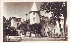 Canada Montebello Quebec - Seigniory Club Manor House old used postcard