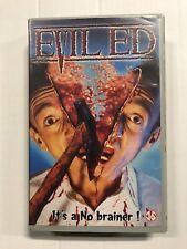 Evil Ed Ex-Rental Vintage Big Box VHS Tape English with dutch subs Horror