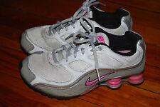 Women's Nike Shox Turbo 9 Pink Gray Running Sneaker (5.5)