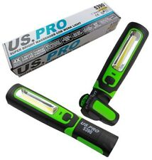 US PRO COB INSPECTION LIGHT & LED TORCH Super Bright Rechargeable Magbender Body
